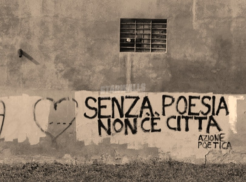 Scritte sui Muri Azione poetica
