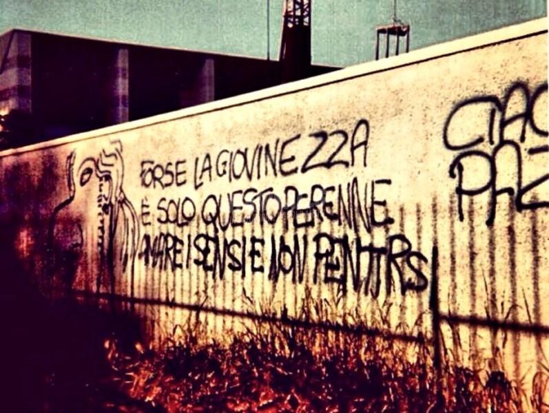 Scritte sui Muri Cit. Andrea Pazienza