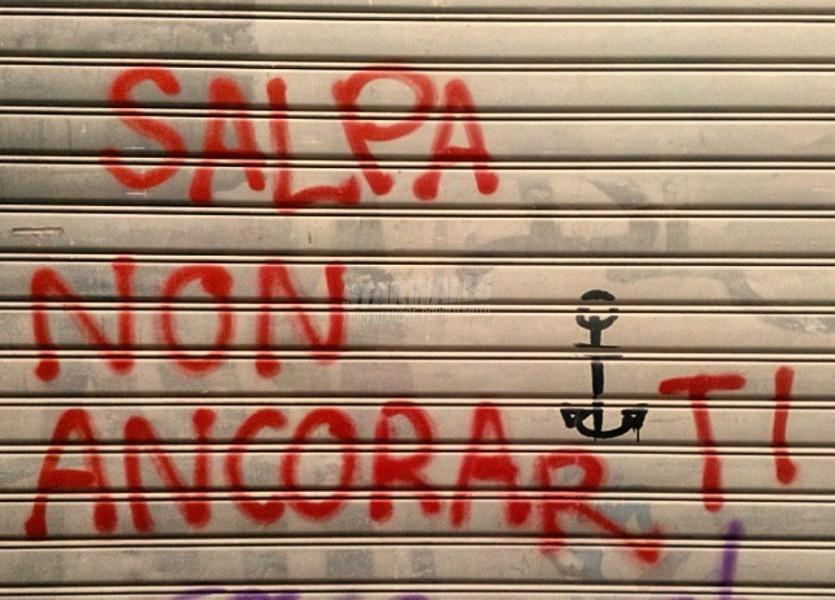 Scritte sui Muri Prendi il largo