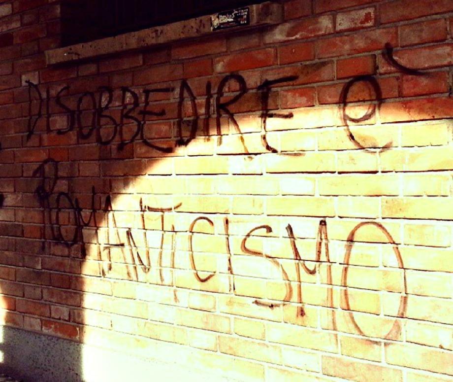 Scritte sui Muri Ribellione e rivoluzione