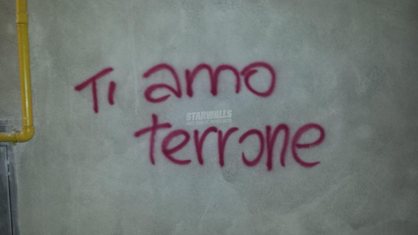 Scritte sui Muri Amore Interregionale