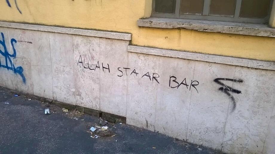 Scritte sui Muri Aspettando l'Isis ...