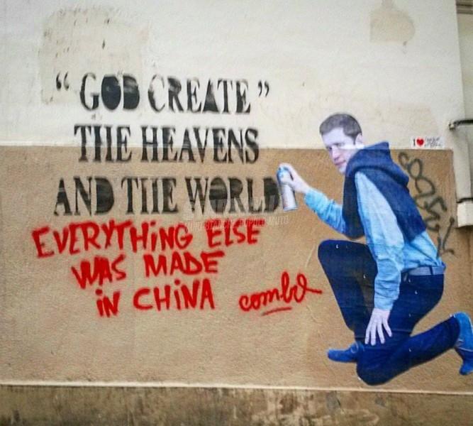 Scritte sui Muri Coexist