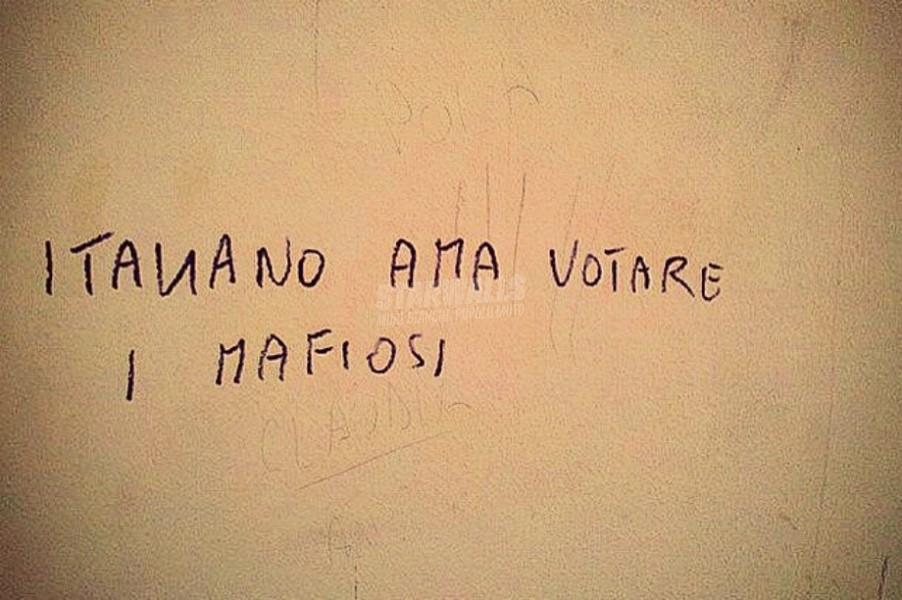 Scritte sui Muri Se vi piace così
