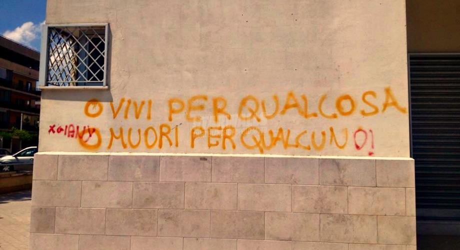 Scritte sui Muri Vivere e morire