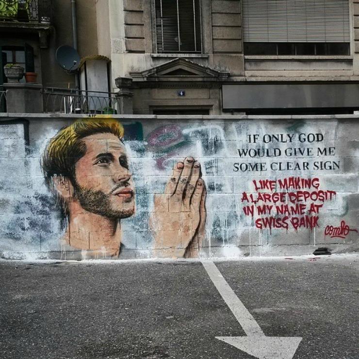 Scritte sui Muri Segno divino
