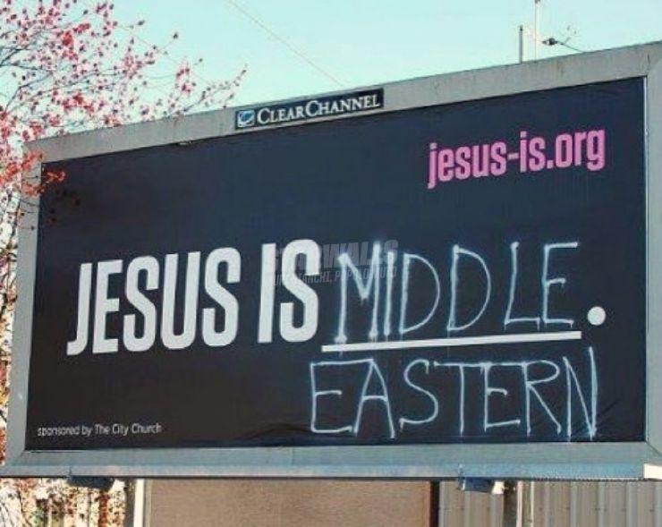 Scritte sui Muri Mediorientale