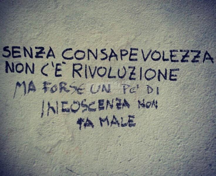 Scritte sui Muri Massime rivoluzionarie
