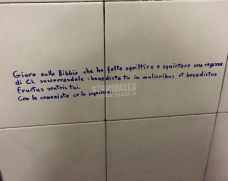 Scritte sui Muri Amplesso in latino