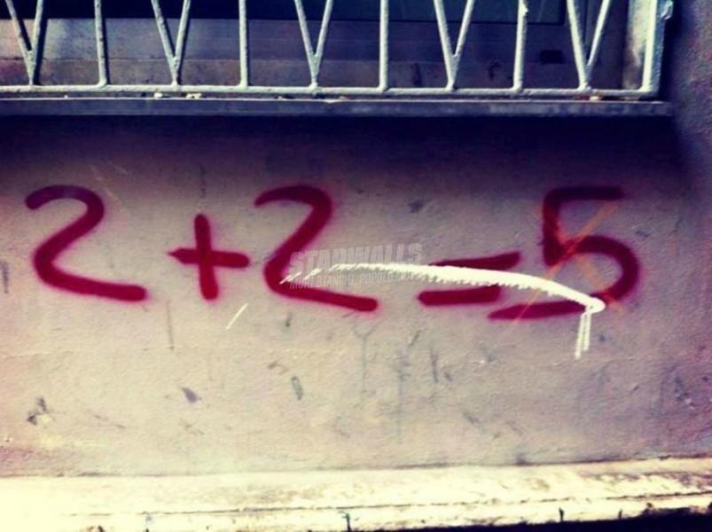 Scritte sui Muri Far di conto ...