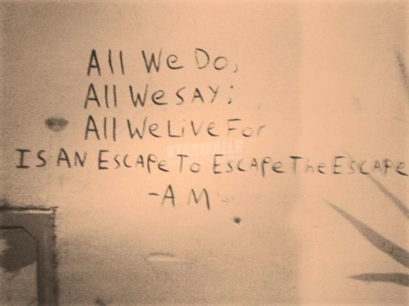 Scritte sui Muri Fuga