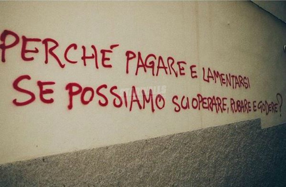 Scritte sui Muri Italian way