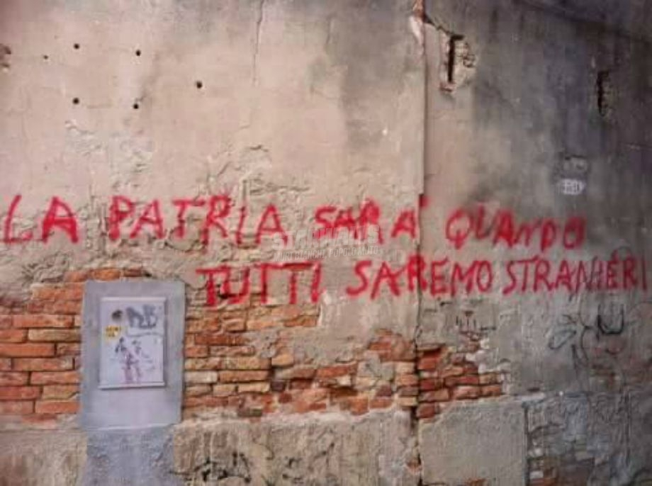 Scritte sui Muri No borders