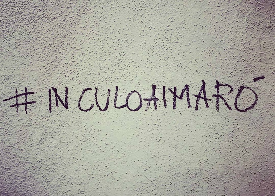 Scritte sui Muri Hastags virali