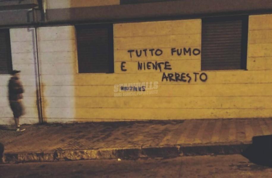 Scritte sui Muri In strada