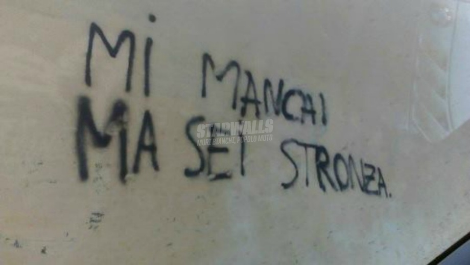 Scritte sui Muri L'amore a Roma Sud