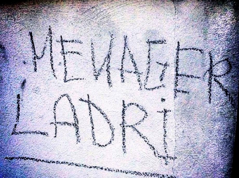Scritte sui Muri Mariuoli