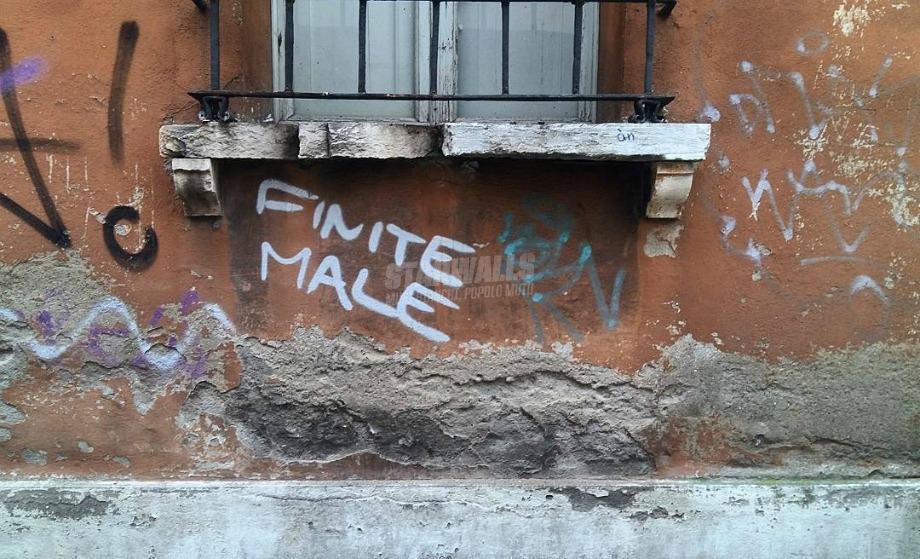 Scritte sui Muri Sentenza