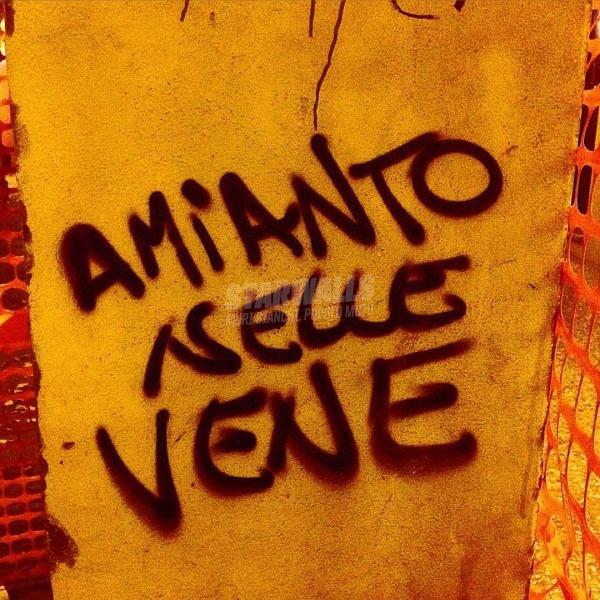 Scritte sui Muri Sangue blu?