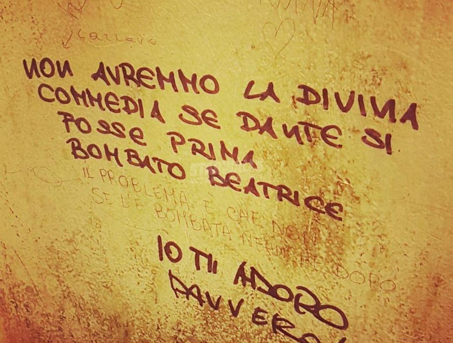 Scritte sui Muri Come dargli torto