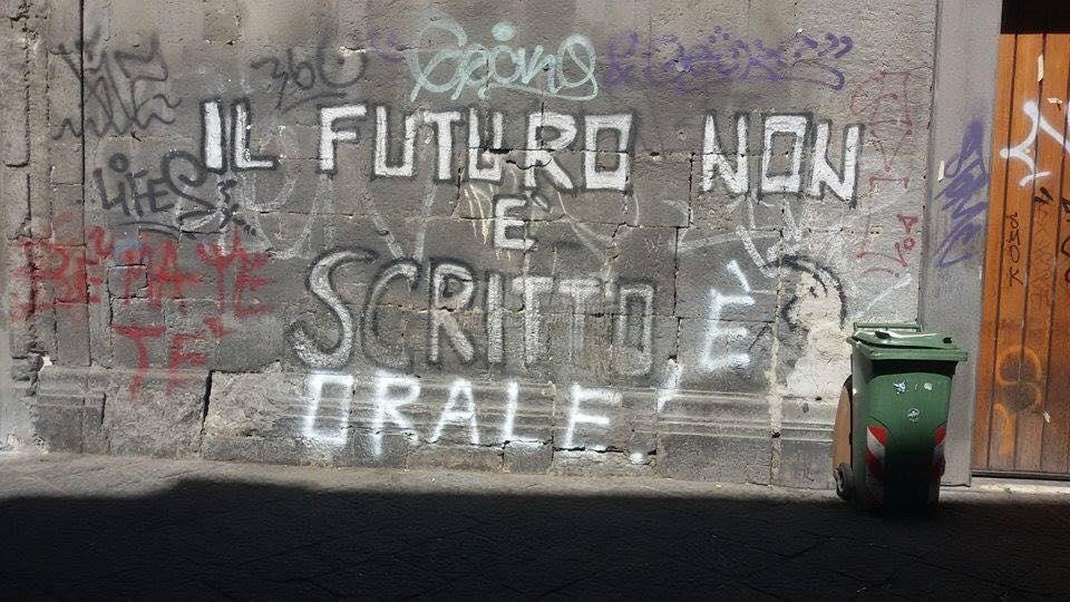Scritte sui Muri Futuro prossimo
