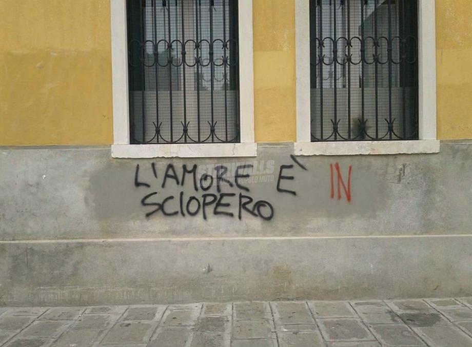 Scritte sui Muri Serrata