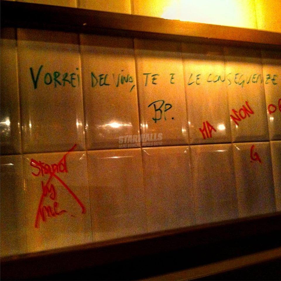 Scritte sui Muri Quello che vorrei