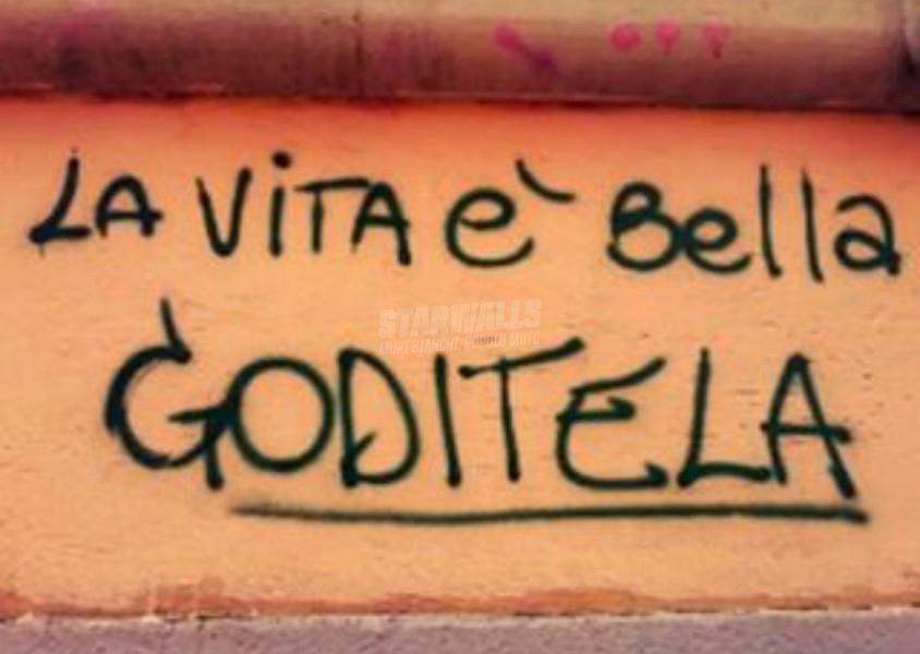 Scritte sui Muri Rilassatevi