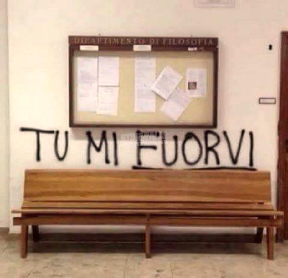 Scritte sui Muri Tu mi turbi ...