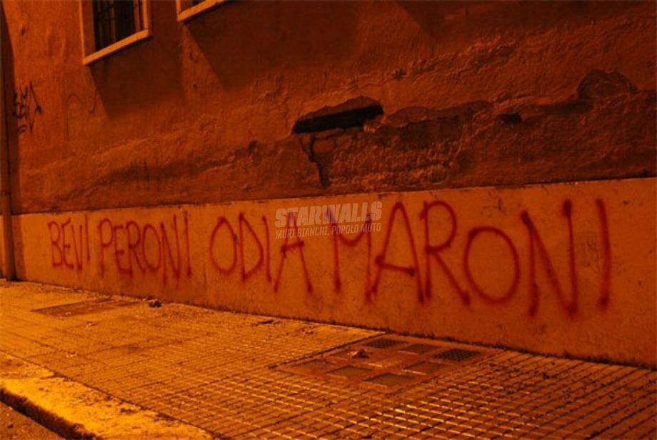 Scritte sui Muri Il nuovo barbaro