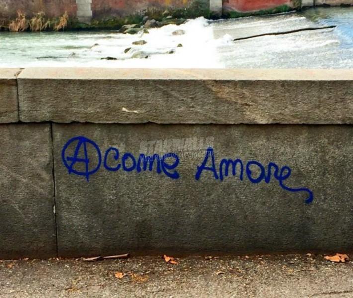 Scritte sui Muri Torino romantico-insurrezionalista