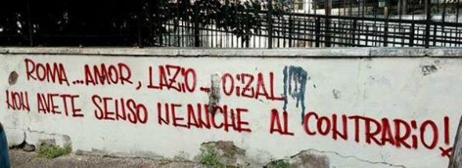 Scritte sui Muri Il derby sui muri cap. VI