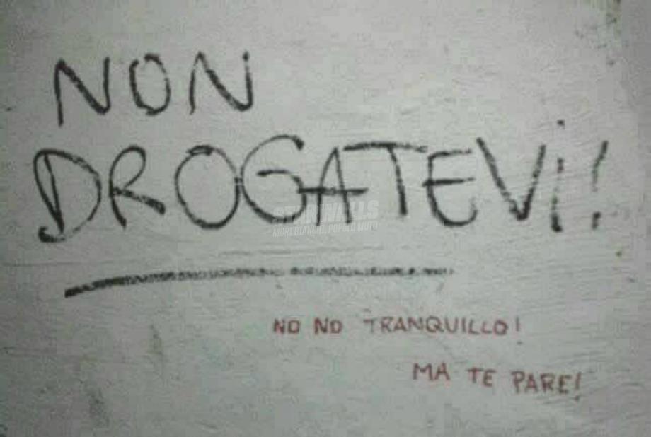 Scritte sui Muri Ma figurati