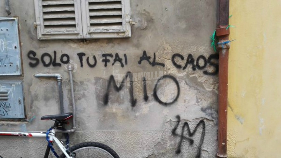 Scritte sui Muri Only you