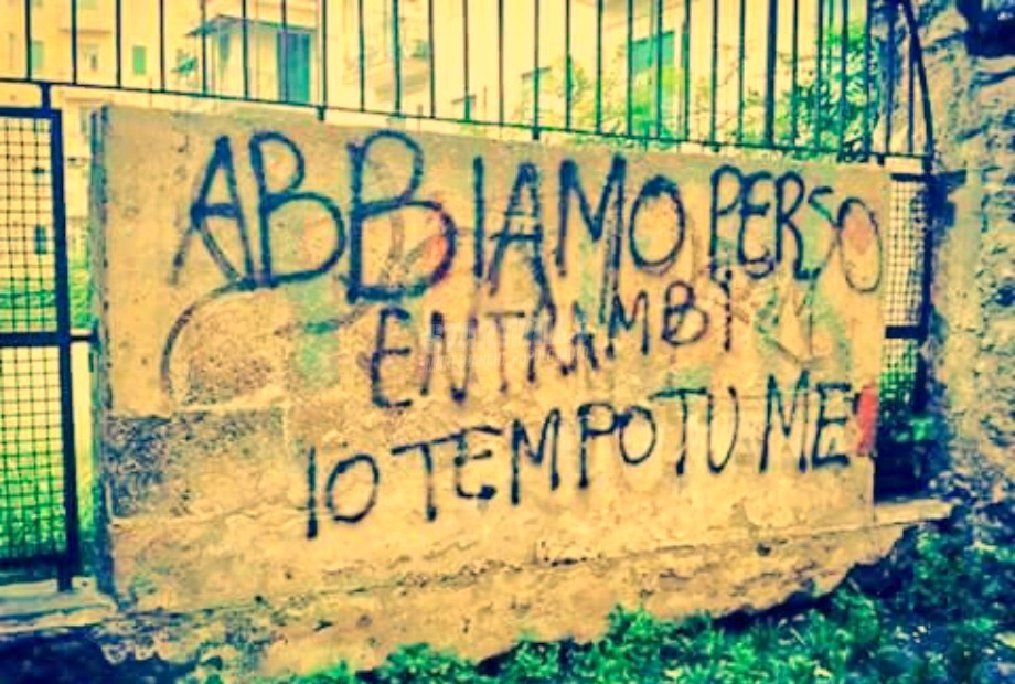 Scritte sui Muri Perdenti