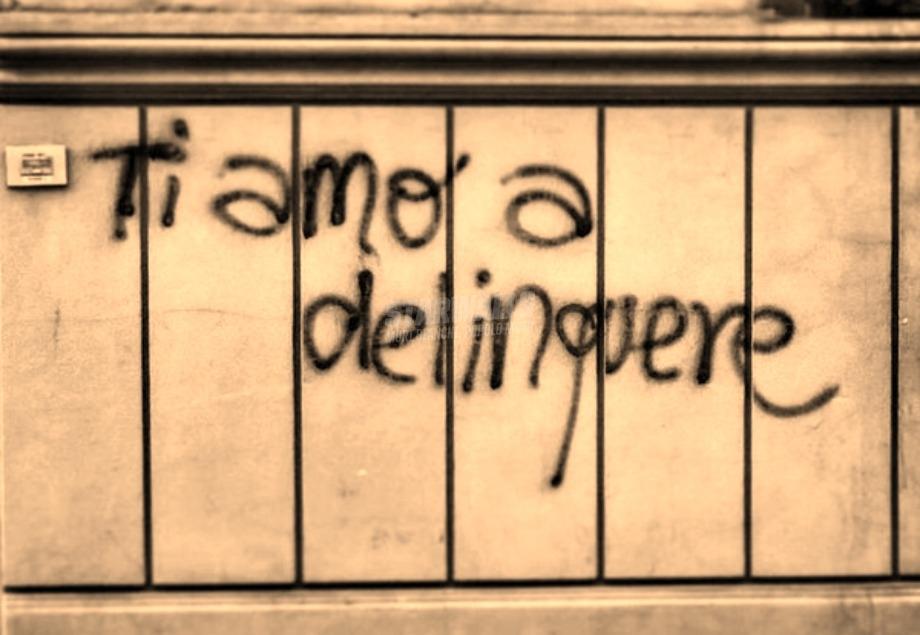 Scritte sui Muri Amore delittuoso