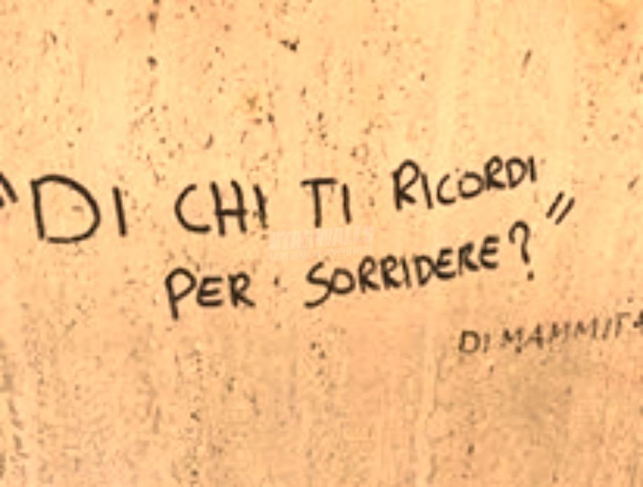 Scritte sui Muri Di chi?