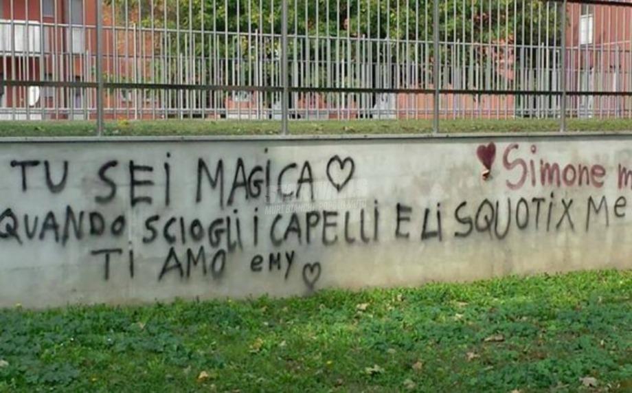 Scritte sui Muri Stregato
