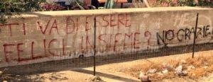 Scritte sui Muri Amori infranti