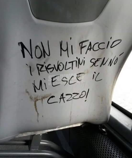 Scritte sui Muri Fashion victim