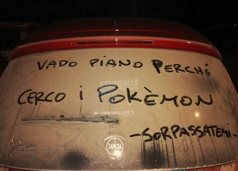 Scritte sui Muri Questa cosa dei Pokemon vi sta sfuggendo di mano