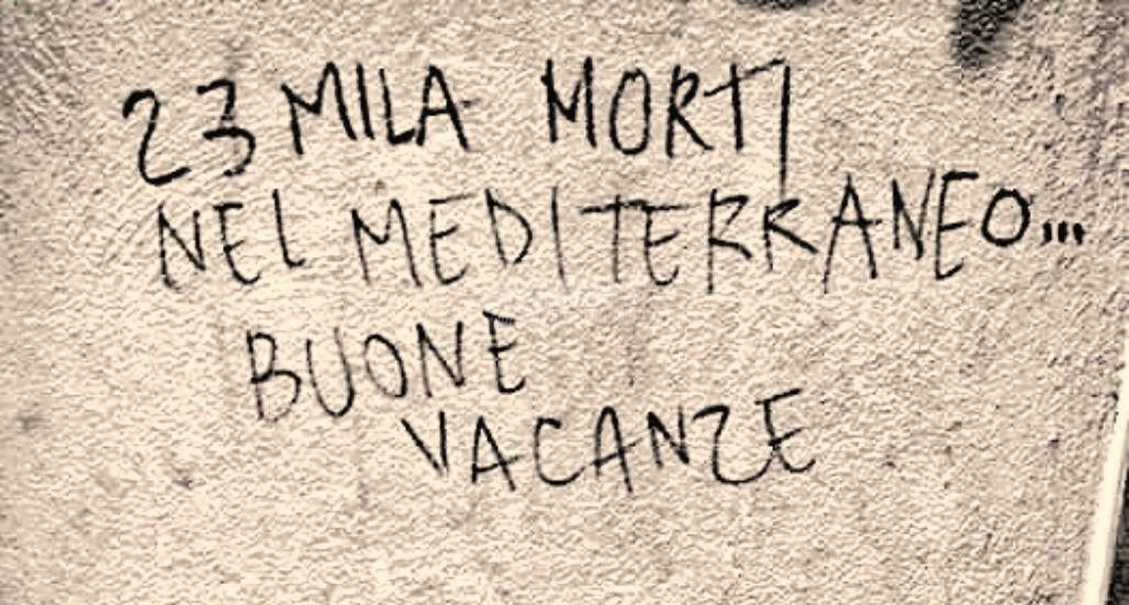 Scritte sui Muri Buone vacanze