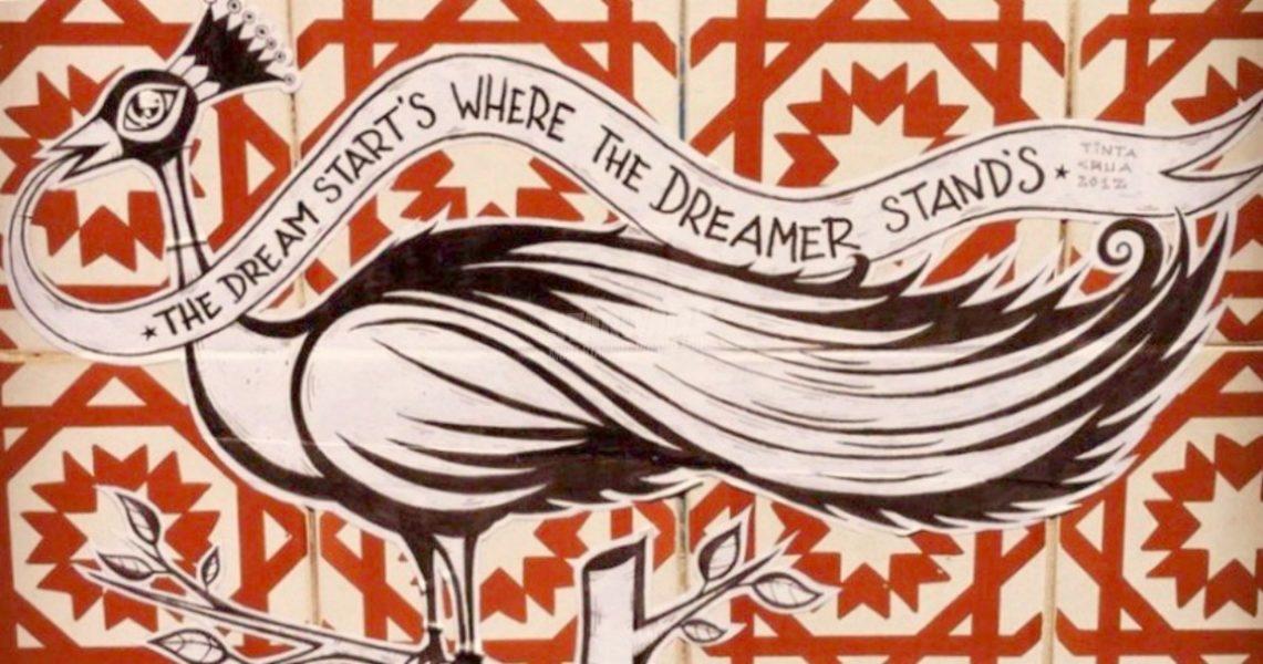 Scritte sui Muri Sogni e sognatori