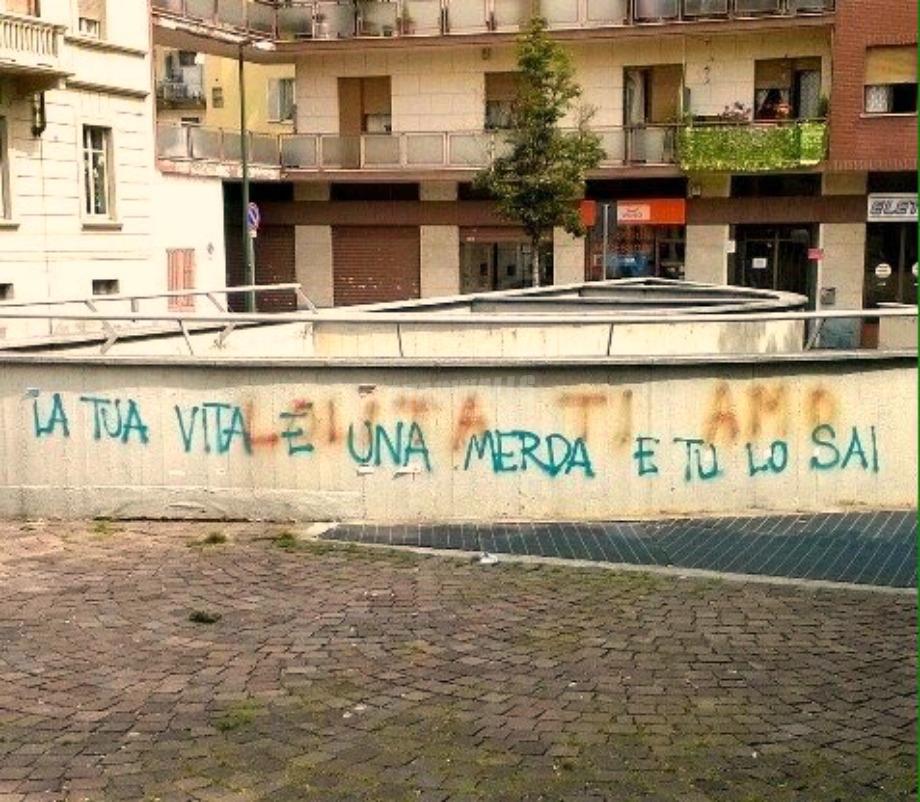 Scritte sui Muri Consapevolezza