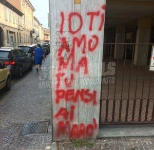 Scritte sui Muri Distrazioni