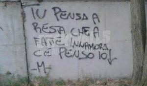 Scritte sui Muri Non ti muovere
