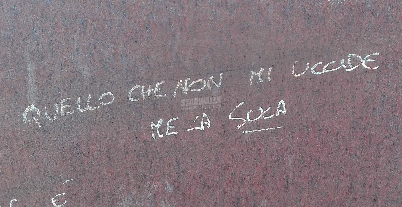 Scritte sui Muri Vulgar display of powa