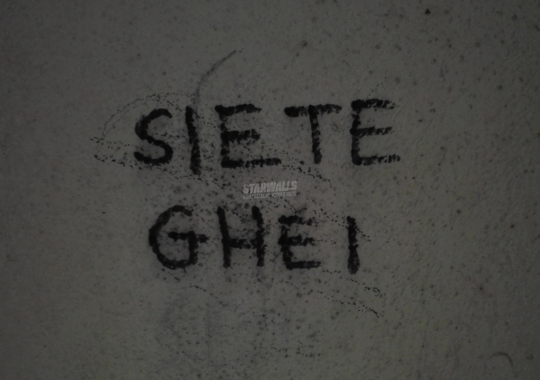 Scritte sui Muri A tutti voi