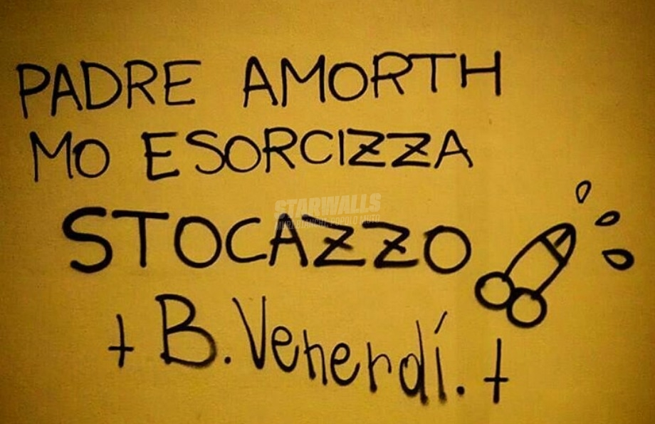 Scritte sui Muri L'esorcista