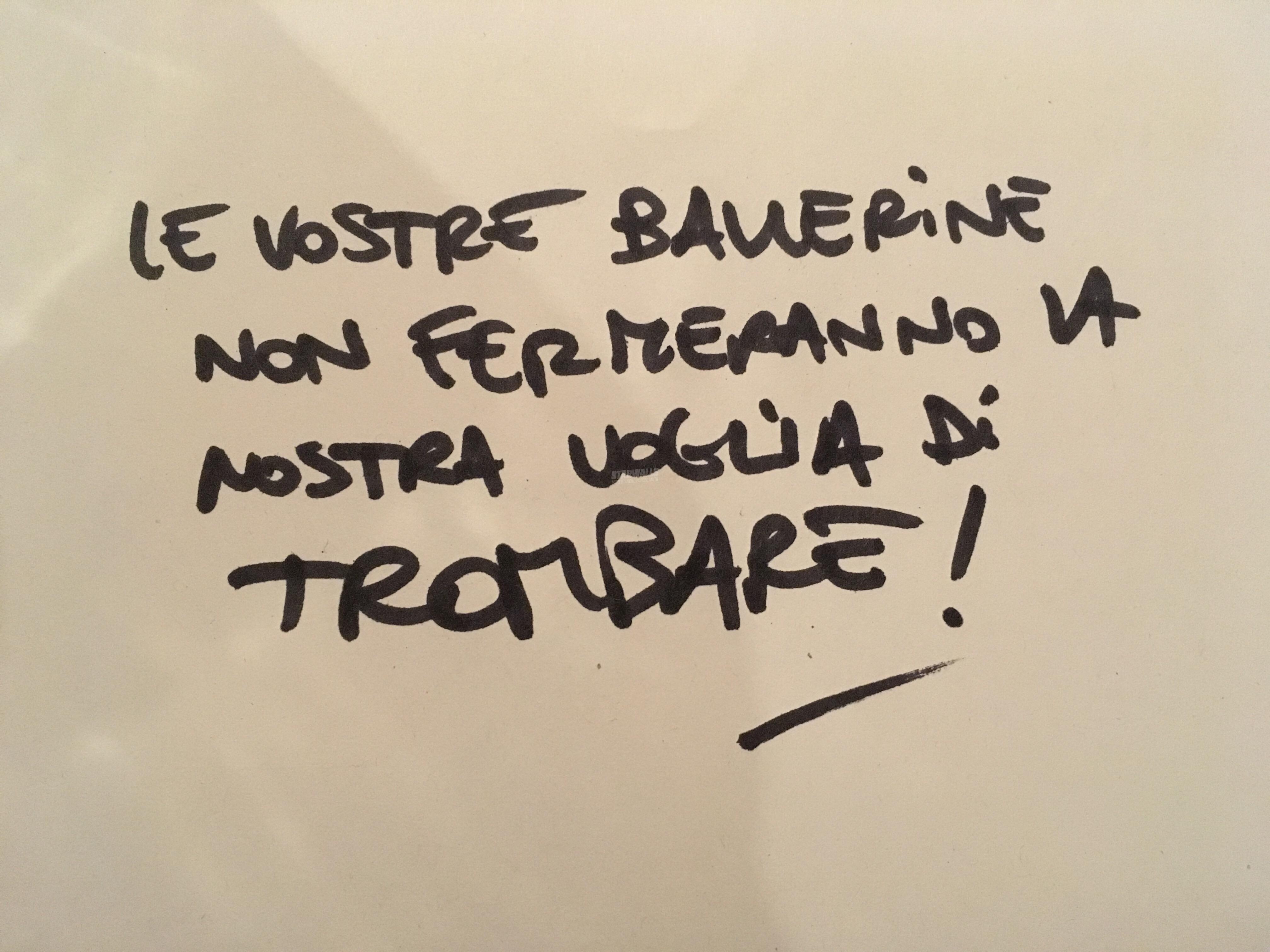 Scritte sui Muri Infoiati sempre